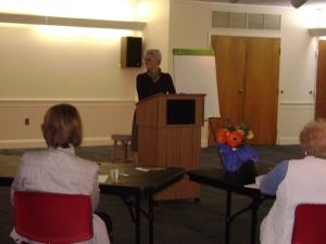 Eileen J. Paul at Wealth For Women on October 15, 2013