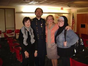 Anthony Waskie as General George G. Meade on November 6, 2013 (PHC event)