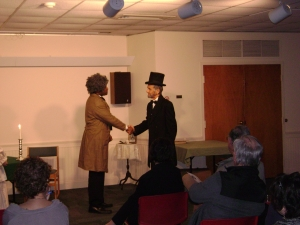 Frederick Douglass and Abraham Lincoln meet on 3/26/14