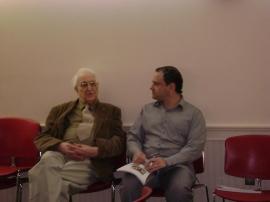 Mr. Carl Landeck with Michael Shaw
