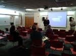 Phil Wallis from Audubon PA introducing The Lost Bird Project film on 6/25/14