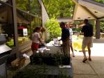 Registration Desk for the Radnor Community Eco Tour on 6/21/14, co-sponsored with Radnor Conservancy