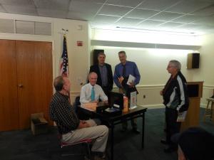Michael J. Chitwood, Louis D'Amicantonio, Robert D'Amicantonio, John Miller