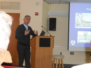 Dr. David Casarett, author of Shocked, on 2/24/15