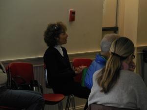 Kathleen Pollack at the GBBC