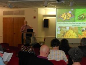 John Fischer, President of the Jenkins Arboretum Board of Trustees