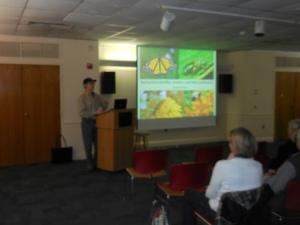 Steve Saffier from Audubon PA  at Mill Grove