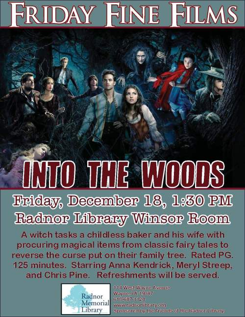 Friday Fine Films- Into the Woods