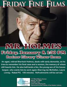 Friday Fine Films- Mr. Holmes