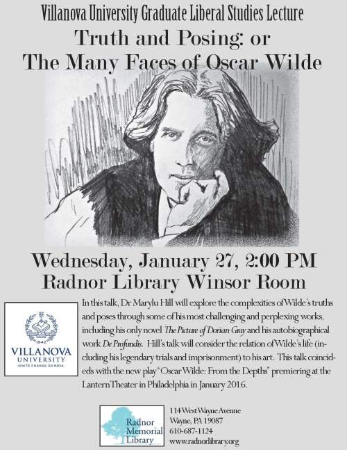 Villanova University Oscar Wilde