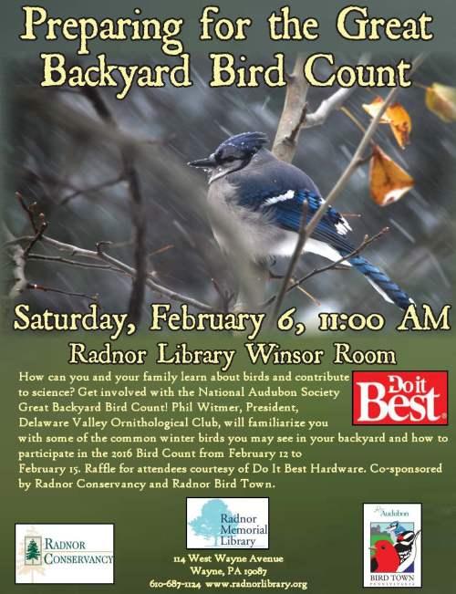 Bird Count 2016