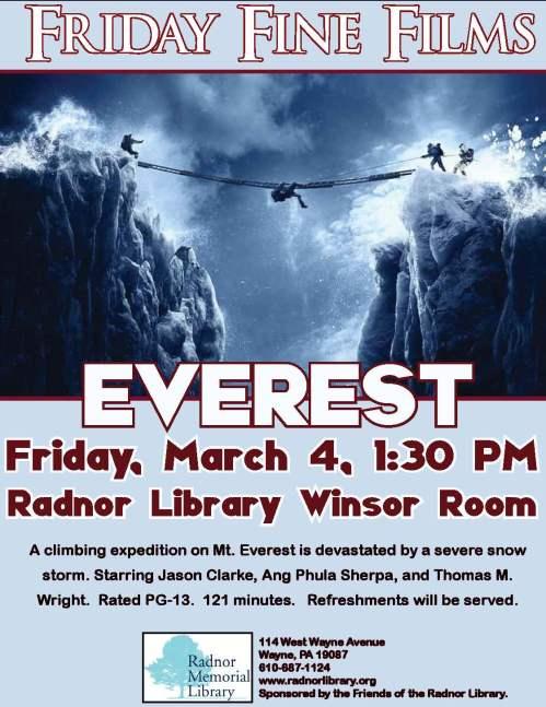 Friday Fine Film- Everest