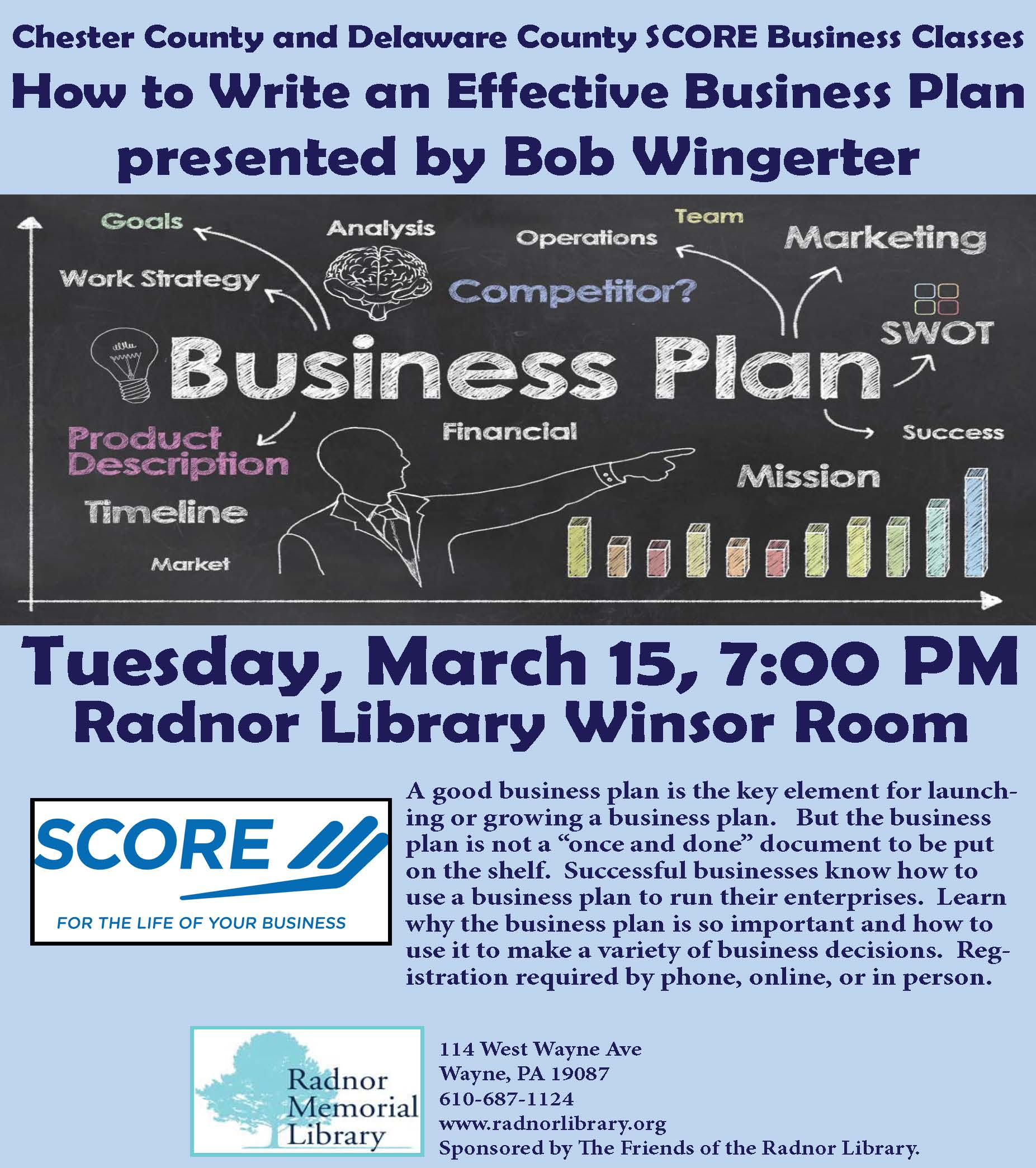 Get Valuable Information At SCORE'S Writing A Business