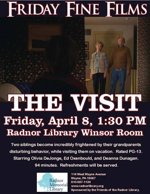 Friday Fine Film- The Visit