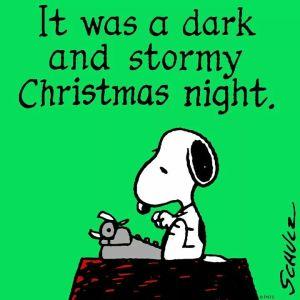 Snoopy Christmas Night