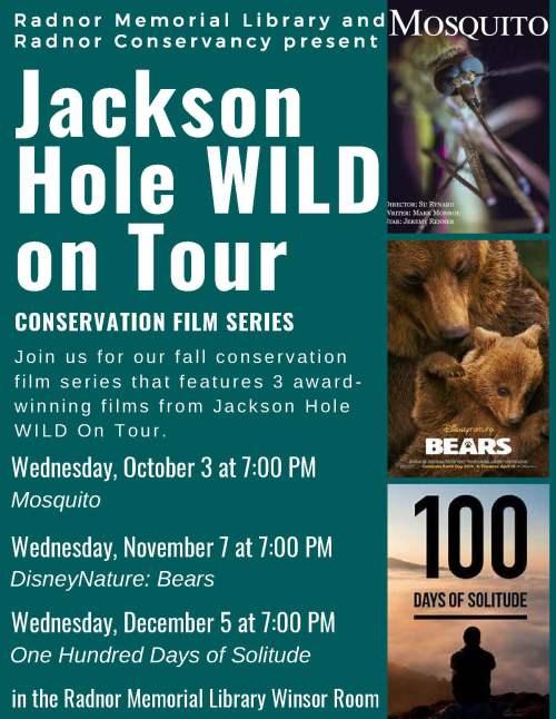 Jackson Hole Wild on Tour film series poster