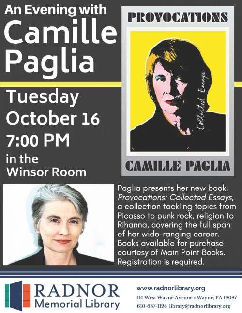 Camille Paglia poster