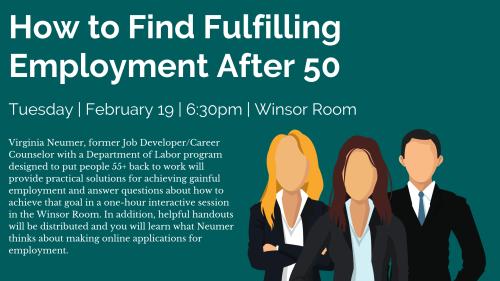 Fulfilling Employment - Digital Sign - Winter 2019